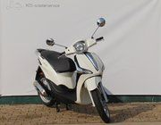 Brom scooter - Piaggio Liberty (wit)
