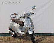 Brom scooter - Vespa Primavera 70th (bromscooter) zilver