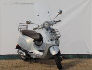 Brom scooter - Vespa Primavera Touring (bromscooter) Zilver