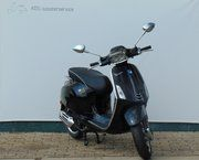 Snor scooter - Vespa Sprint (zwart)