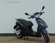Brom scooter - Piaggio Fly (brom) Blauw