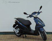 Piaggio scooters - Piaggio Fly (brom) Blauw