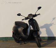 Brom scooter - Vespa Sprint Notte (mat-zwart)